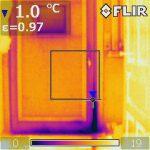 camera thermique porte