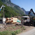 chantier charpente